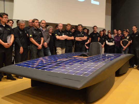 cellules photovoltaïques, éco-mobilité, efficacité énergétique, voiture solaire