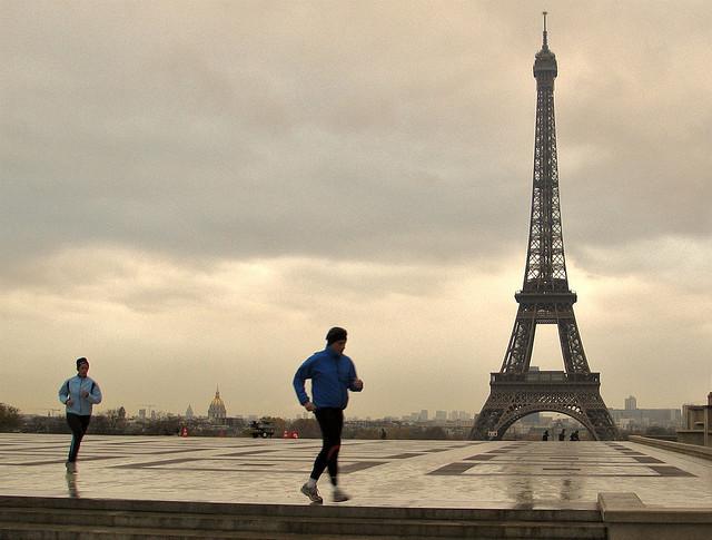 Paris, réchauffement climatique, températures, canicules