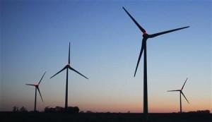 éolien, production d'électricité, énergies renouvelables, vent, parc éoliens, puissance installée