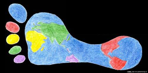 développement durable, empreinte écologique, activité humaine, réchauffement climatique