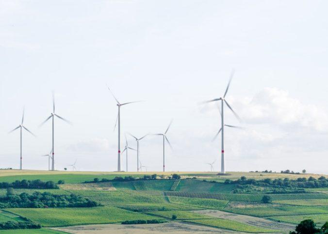 Moulin à vent pour la transition énergétique