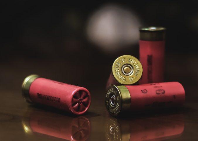 Les douilles d'une arme