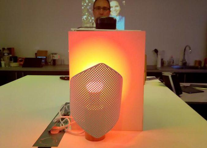 Présentation d'un prototype de Djingo en 2017