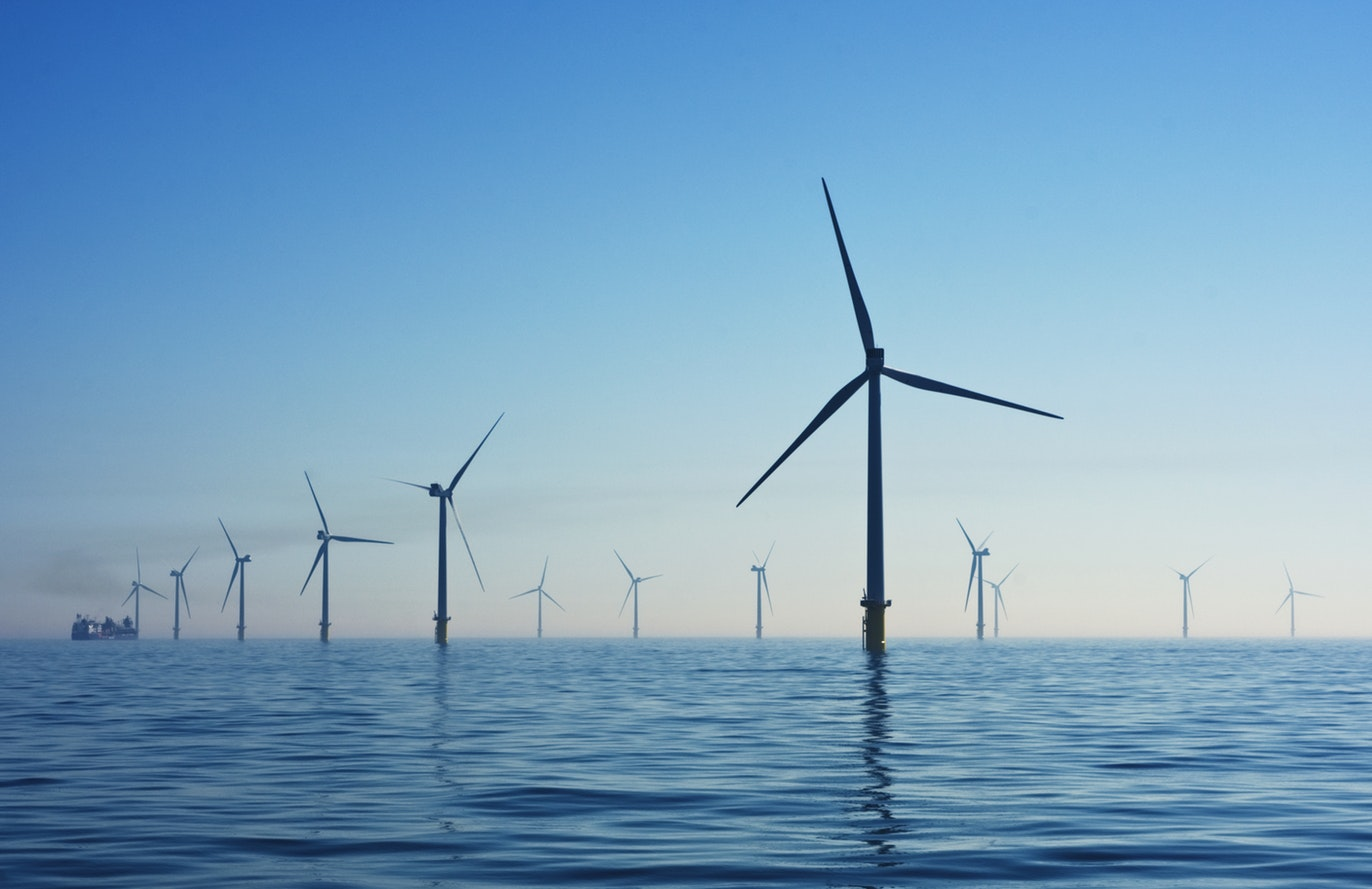 Ferme éolienne offshore de Rampion au Royaume Uni