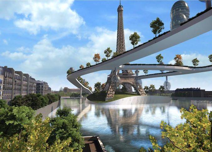 """Icii une image des projets imaginés par les étudiants des Ecoles nationales supérieures d'architectures lors du Hackathon """"Haussmann 2.0, 48 heures pour révolutionner Paris ! »"""