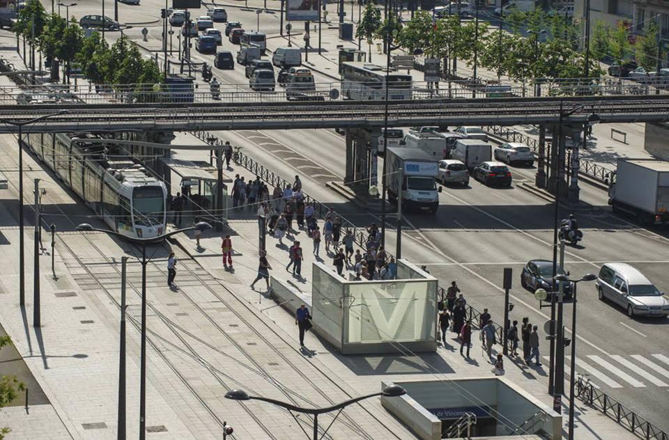 Les entrées de la station Porte de Vincennes