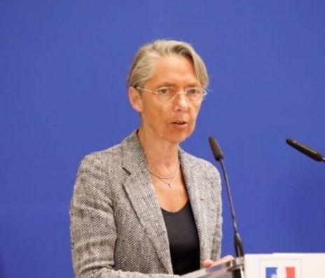 Elisabeth Borne lors d'une allocution en avril 2019