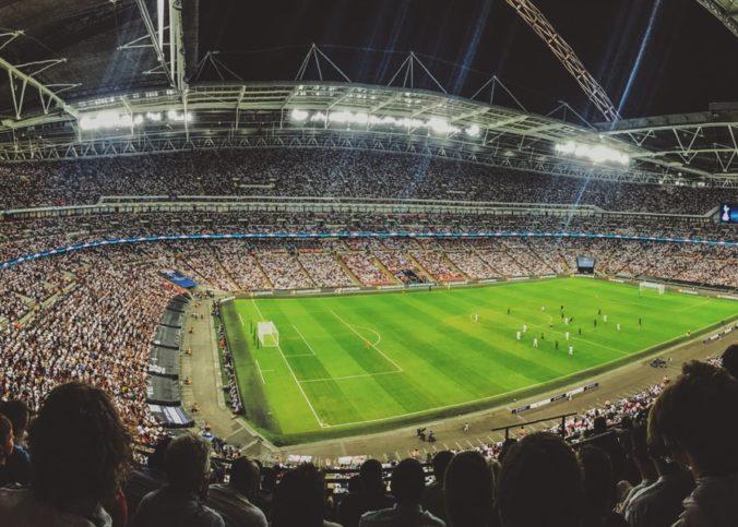 Un match de Champion's League vu de la tribune
