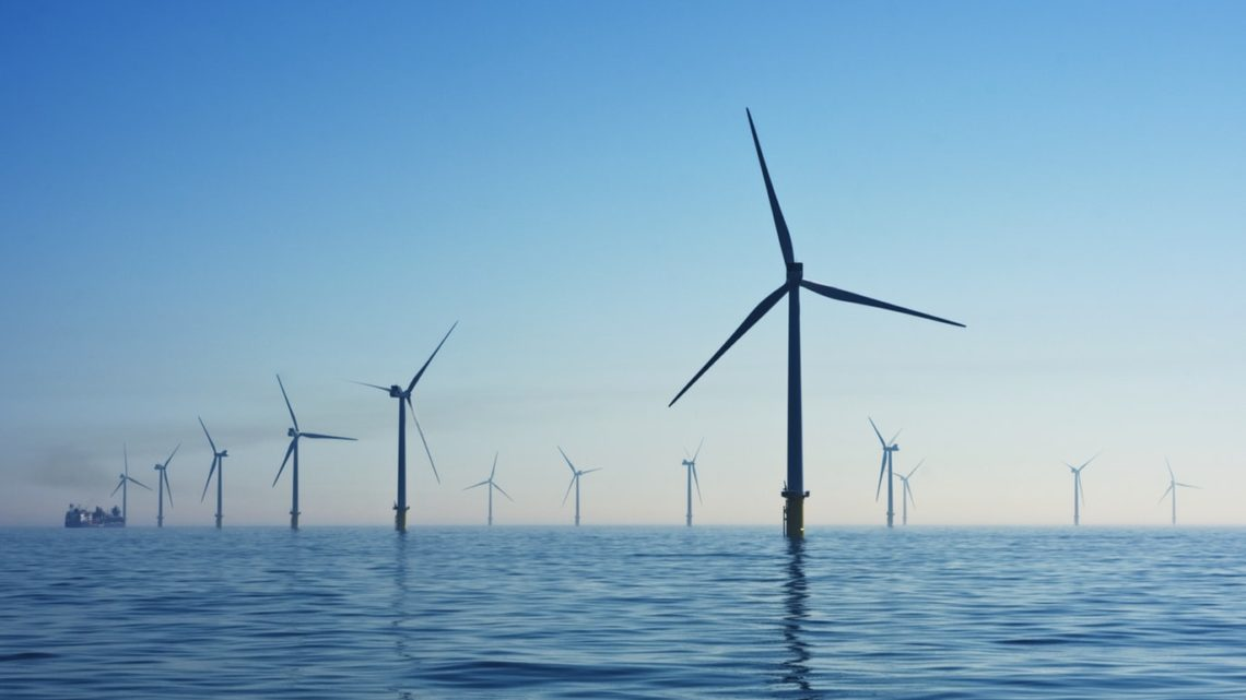 Un parc éolien offshore