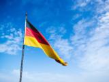 Le drapeau de l'Allemagne.