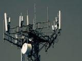 Une antenne pour téléphonie mobile.