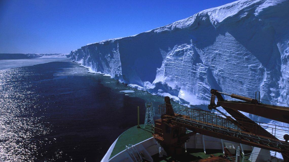 plaque Arctique canadienne ecroulement