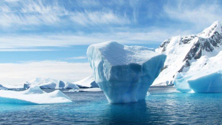 Antarctique barrieres de glace