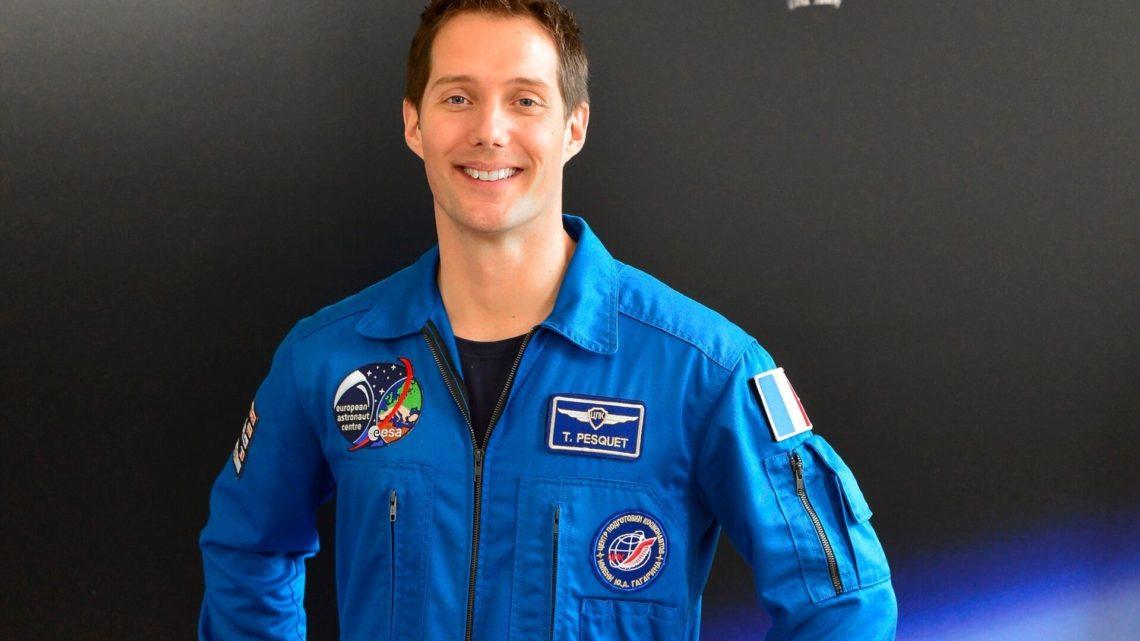 Le Français Thomas Pesquet, l'une des recrues de l'Agence spatiale européenne (ESA) en 2008.