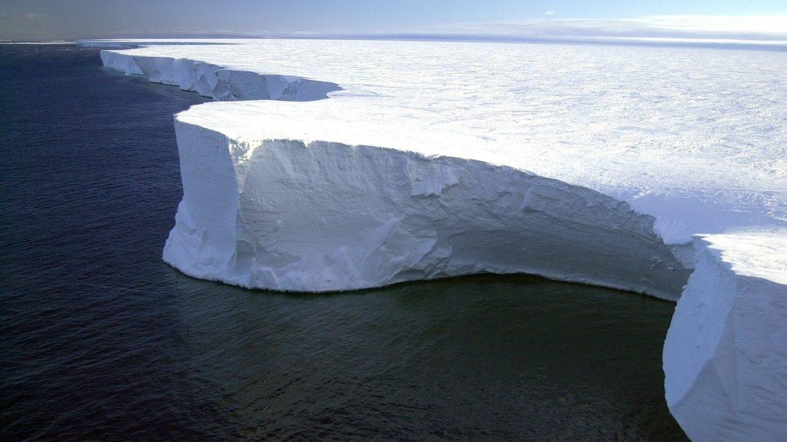 antarctique point non-retour glacier montee des eaux
