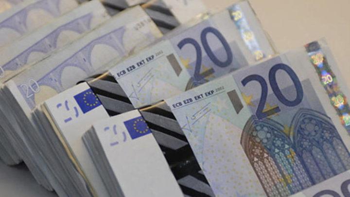 Des bilets de banque euro.
