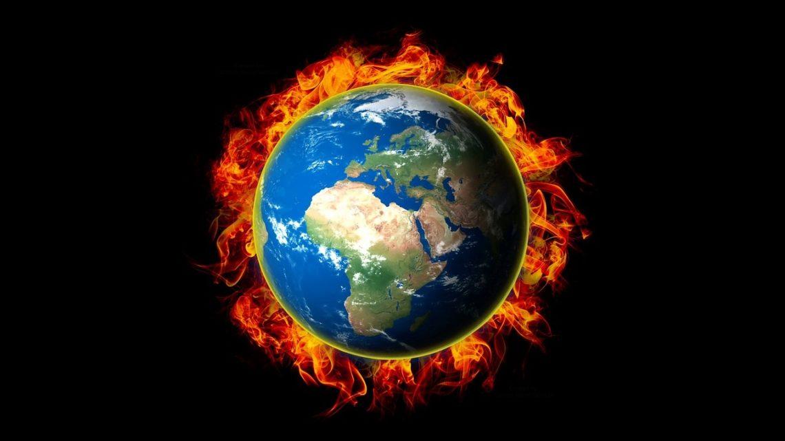 bouleversement climat planete brule